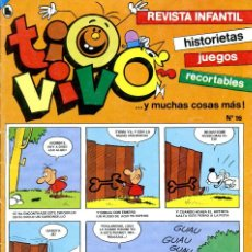 Tebeos: REVISTA INFANTIL TIO VIVO. Nº 16. MARZO DE 1986. Lote 222371061