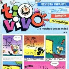 Tebeos: REVISTA INFANTIL TIO VIVO. Nº 2. DICIEMBRE DE 1985. Lote 222371411