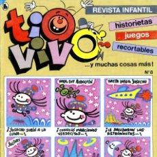 Tebeos: REVISTA INFANTIL TIO VIVO. Nº 8. FEBRERO DE 1986. Lote 222371588