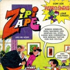 Tebeos: REVISTA ZIPI Y ZAPE. AÑO XIII. Nº 583. 25 DE JUNIO DE 1984. Lote 222373233