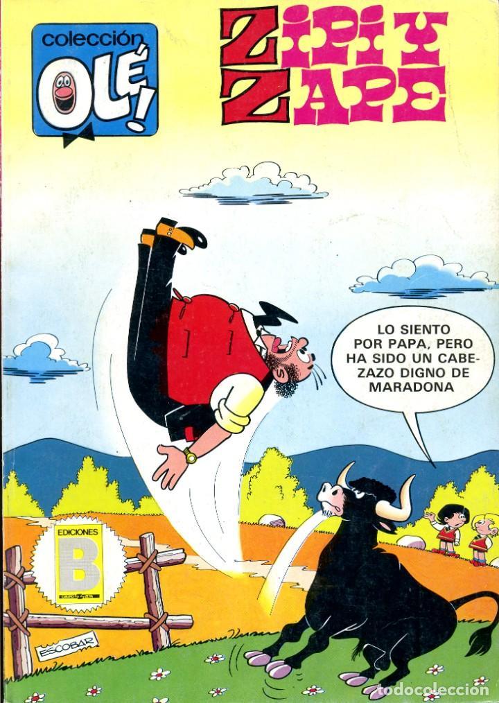 ZIPI Y ZAPE. COLECCIÓN OLE. 236-Z9. JULIO 1987 (Tebeos y Comics - Bruguera - Ole)