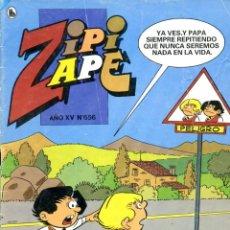 Tebeos: REVISTA ZIPI Y ZAPE. AÑO XV. Nº 656. ENERO 1986. Lote 222374367