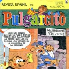 Tebeos: REVISTA JUVENIL PULGARCITO. Nº 7. ENERO DE 1986. Lote 222374841