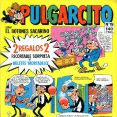 Tebeos: REVISTA JUVENIL PULGARCITO. Nº 19. ENERO DE 1986. Lote 222375071