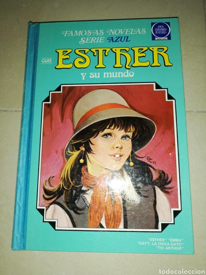FAMOSA NOVELAS SERIE AZUL CON ESTHER Y SU MUNDO N°8,BRUGUERA (Tebeos y Comics - Bruguera - Esther)