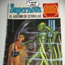 Tebeos: SUPERNOVA Nº 70, EL ASESINO DE ESTRELLAS, ED. BRUGUERA, AÑO 1975, (B) 6D. Lote 222378288