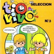 Tebeos: TIO VIVO SELECCIÓN. Nº 3. INCLUYE Nº 9, Nº 10 Y Nº 11. Lote 222379903