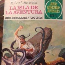 Tebeos: JOYAS LITERARIAS JUVENILES- Nº 39 -LA ISLA DE LA AVENTURA-1ª ED.-1972-GRAN RUIZ PUEYO-BUENO-LEA-3932. Lote 222381418