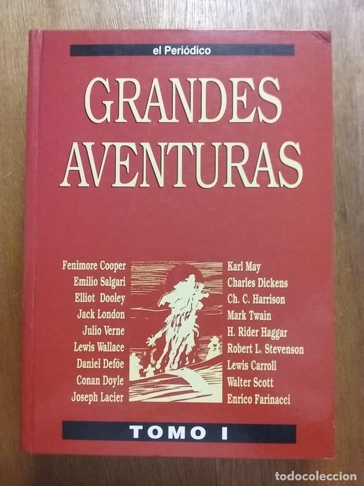 Tebeos: GRANDES AVENTURAS, CUATRO 4 TOMOS, EL PERIODICO, COMPLETO Y ENCUADERNADO, JOYAS LITERARIAS BRUGUERA - Foto 9 - 222384425
