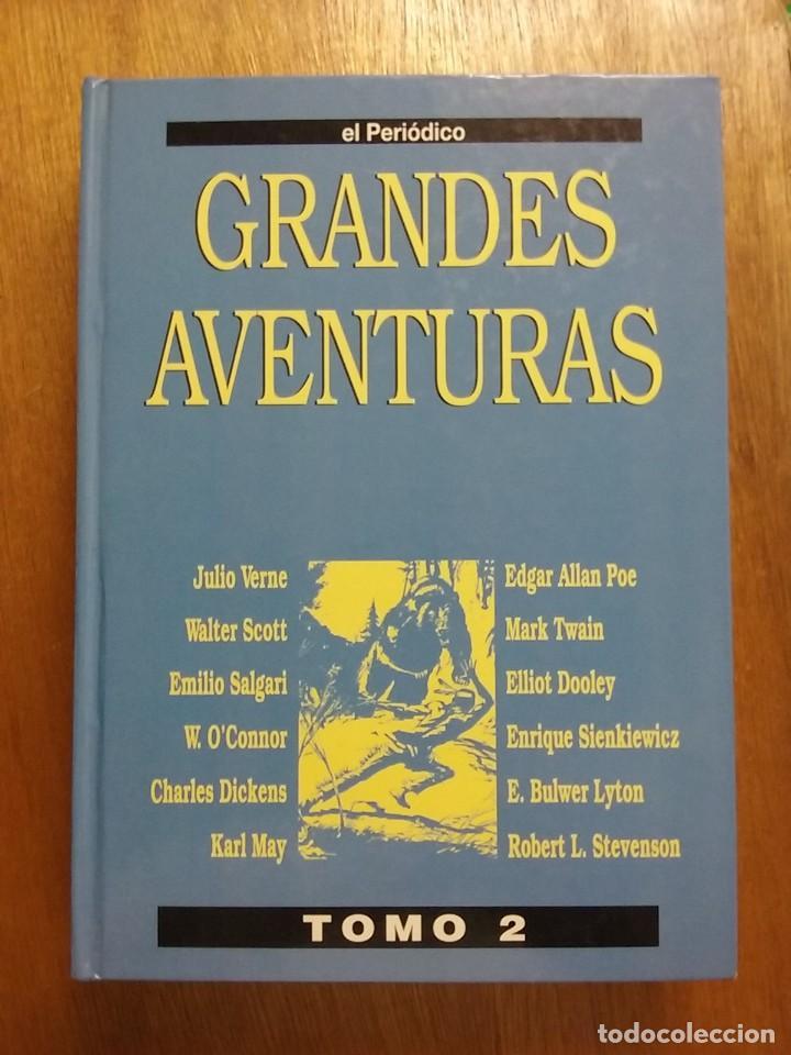Tebeos: GRANDES AVENTURAS, CUATRO 4 TOMOS, EL PERIODICO, COMPLETO Y ENCUADERNADO, JOYAS LITERARIAS BRUGUERA - Foto 7 - 222384425