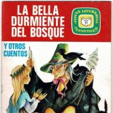 Tebeos: LA BELLA DURMIENTE DEL BOSQUE Y OTROS CUENTOS. JOYAS LITERARIAS INFANTILES. BRUGUERA. Lote 222409102