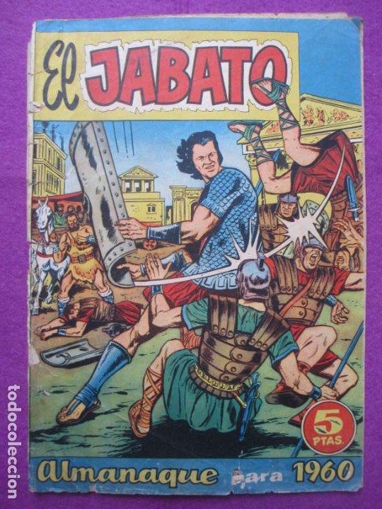 TEBEO EL JABATO ALMANAQUE PARA 1960 ED. BRUGUERA ORIGINAL (Tebeos y Comics - Bruguera - Jabato)