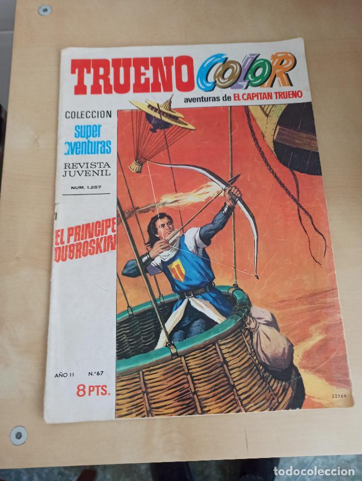 TRUENO COLOR Nº 67 / 1ª EPOCA (Tebeos y Comics - Bruguera - Capitán Trueno)