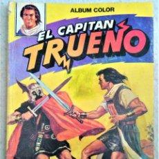 Tebeos: ALBUM COLOR - EL CAPITAN TRUENO - Nº 9 - LUCHA CONTRA EL MAR. Lote 222429690