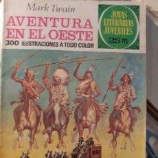 Tebeos: JOYAS LITERARIAS JUVENILES- Nº 58 -AVENTURA EN EL OESTE-2ª ED.1976-LUIS CASAMITJANA-BUENO-LEA-3933. Lote 222442078