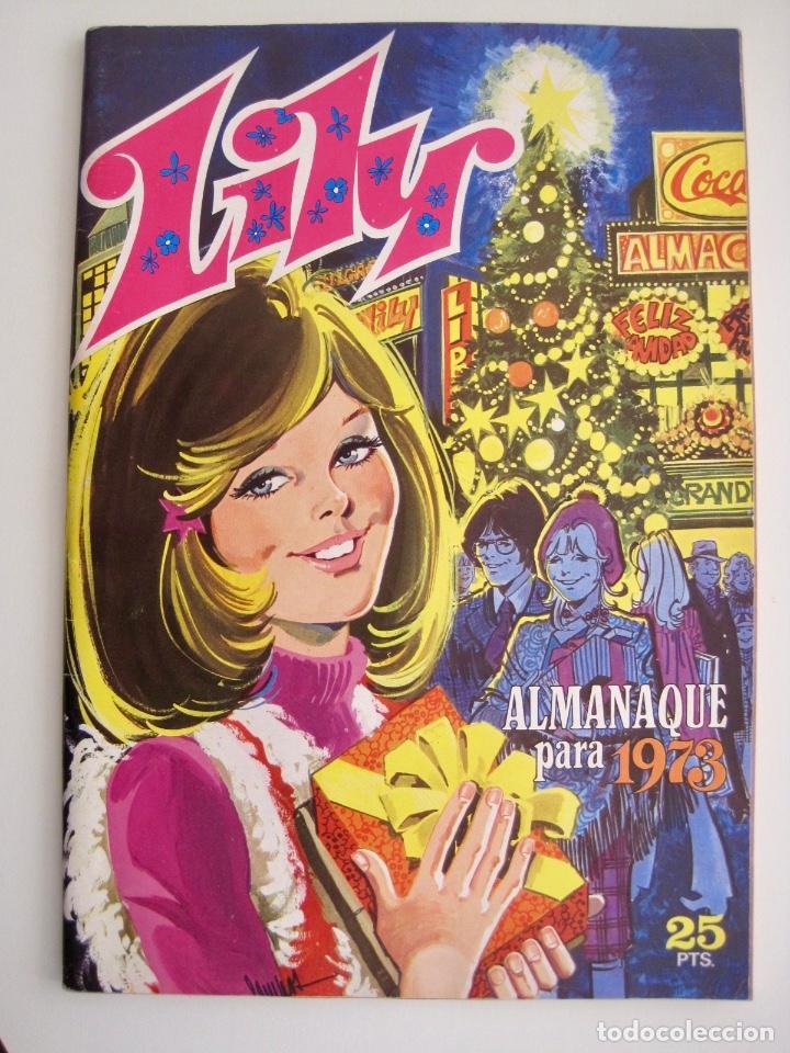 Tebeos: LILY--15 16 EXTRA NAVIDAD PRIMAVERA VERANO OTOÑO Y ALMANAQUE --1973 1976 1978 1979 1980 1981 1982 - Foto 2 - 222444763