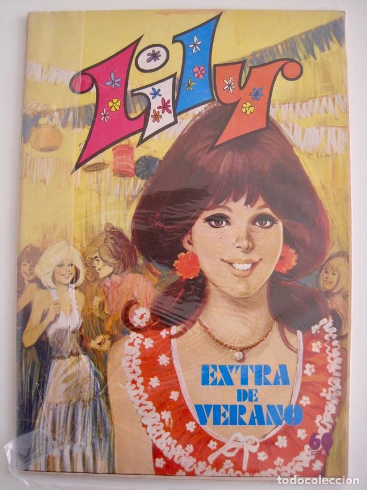 Tebeos: LILY--15 16 EXTRA NAVIDAD PRIMAVERA VERANO OTOÑO Y ALMANAQUE --1973 1976 1978 1979 1980 1981 1982 - Foto 14 - 222444763