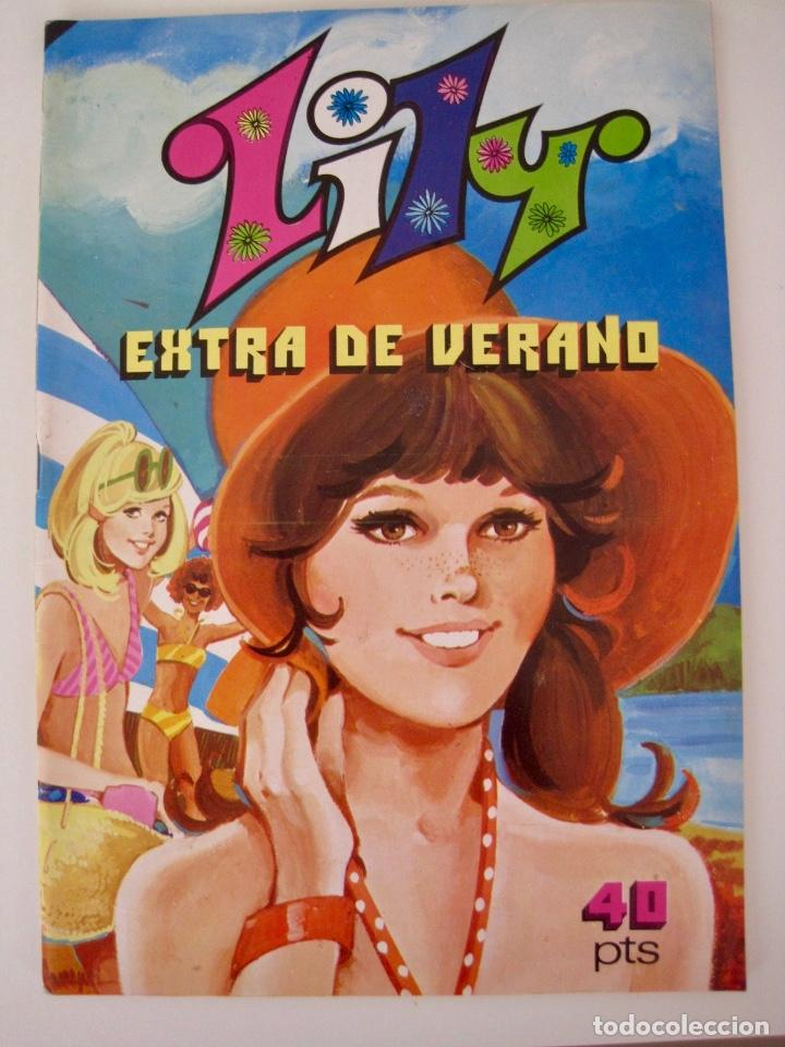 Tebeos: LILY--15 16 EXTRA NAVIDAD PRIMAVERA VERANO OTOÑO Y ALMANAQUE --1973 1976 1978 1979 1980 1981 1982 - Foto 17 - 222444763