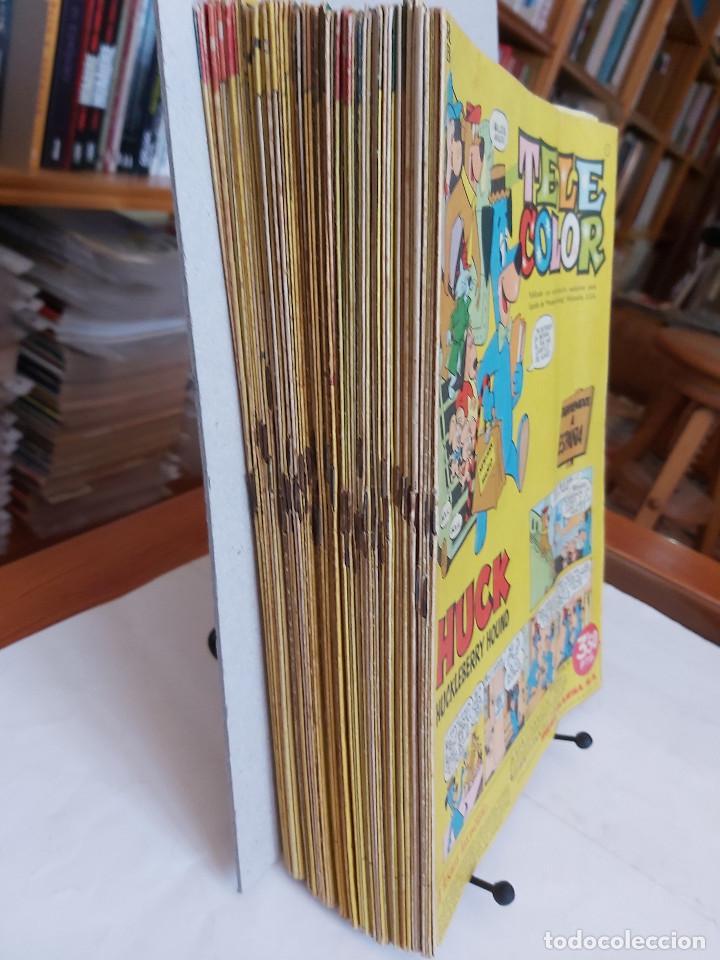 Tebeos: * Tele Color * Lote de 75 ejemplares * ED. Bruguera 1963/1968 * EXCELENTES * - Foto 5 - 222464066