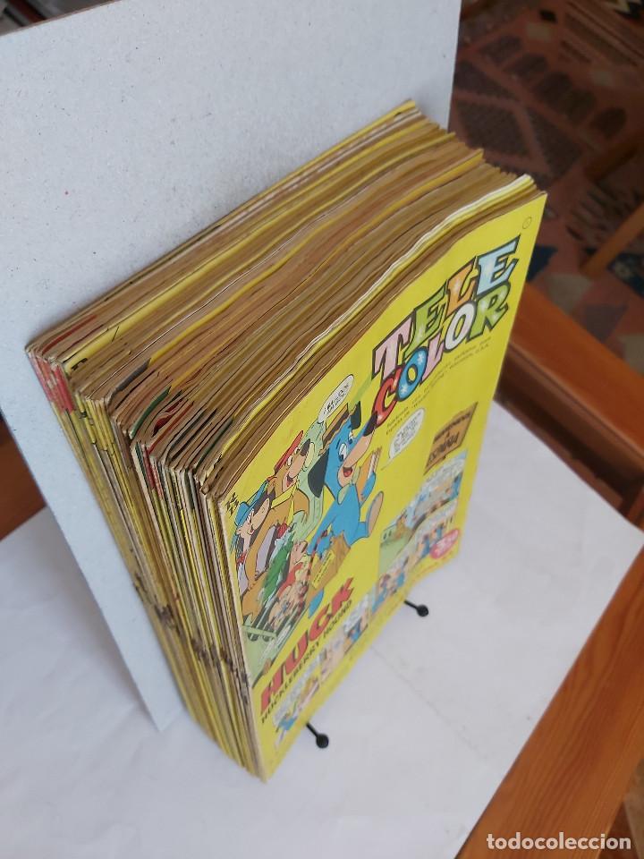 Tebeos: * Tele Color * Lote de 75 ejemplares * ED. Bruguera 1963/1968 * EXCELENTES * - Foto 6 - 222464066