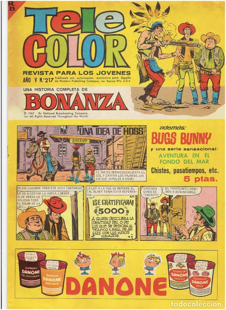 Tebeos: * Tele Color * Lote de 75 ejemplares * ED. Bruguera 1963/1968 * EXCELENTES * - Foto 25 - 222464066