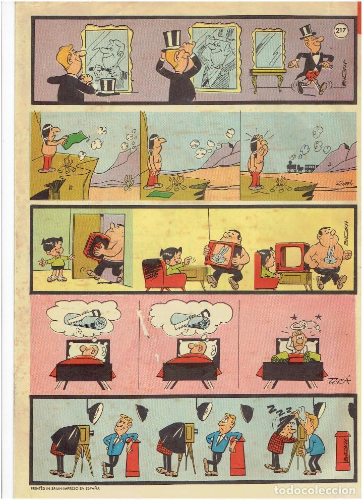 Tebeos: * Tele Color * Lote de 75 ejemplares * ED. Bruguera 1963/1968 * EXCELENTES * - Foto 26 - 222464066