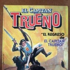 Tebeos: EL CAPITAN TRUENO Nº 1 EL REGRESO DEL CAPITAN TRUENO (1ª EDICION 1986) BRUGUERA - CARTONE - OFM15. Lote 222405931
