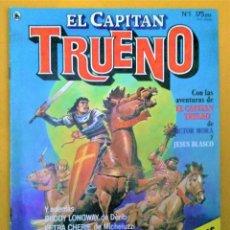 Tebeos: EL CAPITAN TRUENO (EDICIONES BRUGUERA) - DIBUJADO POR J. BLASCO - Nº1. Lote 222478988