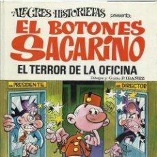 Tebeos: ALEGRES HISTORIETAS 12: EL BOTONES SACARINO, 1971, BRUGUERA, MUY BUEN ESTADO. Lote 222549966