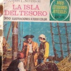 Tebeos: JOYAS LITERARIAS JUVENILES- Nº 2 -LA ISLA DEL TESORO-3ª ED.1978-A.CERÓN-SOLO CORRECTO-DIFÍCIL-3934. Lote 222557633