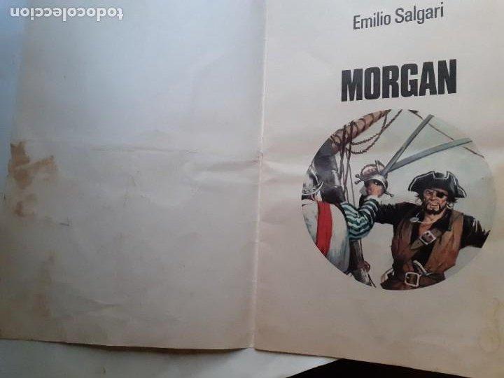 Tebeos: JOYAS LITERARIAS JUVENILES- Nº 242- MORGAN-1981-GRAN TOMÁS PORTO-MUY DIFÍCIL-CASI BUENO-LEA-3935 - Foto 4 - 222559808
