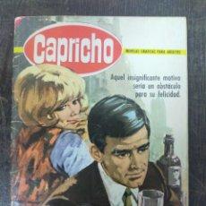 Tebeos: CAPRICHO. Nº 177. AÑO 1966. BRUGUERA. DEMASIADO JOVEN. Lote 222596445
