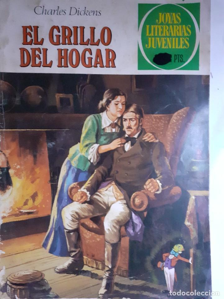 JOYAS LITERARIAS JUVENILES- Nº 217 -EL GRILLO DEL HOGAR-1979-GRAN TOMÁS PORTO-BUENO-DIFÍCIL-LEA-3936 (Tebeos y Comics - Bruguera - Joyas Literarias)