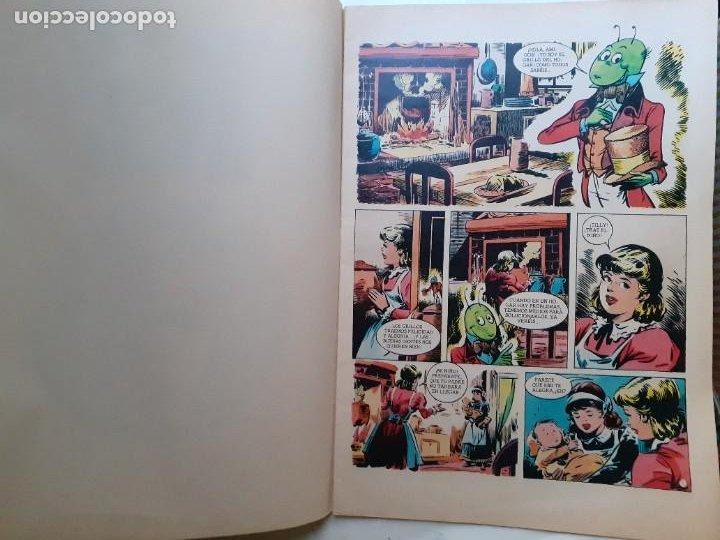 Tebeos: JOYAS LITERARIAS JUVENILES- Nº 217 -EL GRILLO DEL HOGAR-1979-GRAN TOMÁS PORTO-BUENO-DIFÍCIL-LEA-3936 - Foto 4 - 222606163