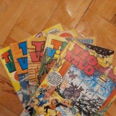 Tebeos: REVISTA TIO VIVO. EDITORIAL BRUGUERA. LOTE 5 EXTRAS Y ALMANAQUES 1967 - 1971. Lote 222656872