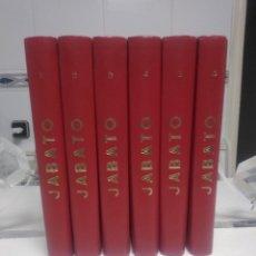 Tebeos: COLECCIÓN EL JABATO EDICIÓN HISTÓRICA COMPLETA 106 NÚMEROS EDICIONES B 1987-1989. Lote 222688581