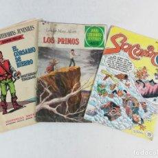 Tebeos: LOTE DE TEBEOS -SACARINO-LOS PRIMOS -EDITORIAL BRUGUERA-JOYAS LITERARIAS JUVENILES. Lote 222691953