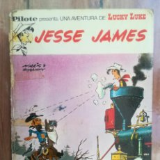 Tebeos: LUCKY LUKE. JESSE JAMES. PILOTE BRUGUERA. Lote 222713442