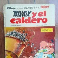 Tebeos: ASTERIX Y EL CALDERO. PILOTE BRUGUERA. Lote 222713861