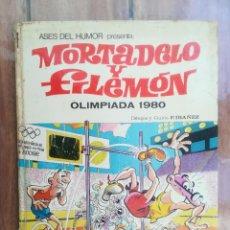 Tebeos: ASES DEL HUMOR. NNº 41. OLIMPIADA 1980. BRUGUERA. Lote 222714701