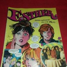 Tebeos: ESTHER, (1982), AÑO I, N°12,REVISTA QUINCENAL. Lote 222717555