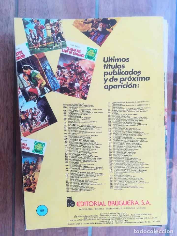 Tebeos: JOYAS LITERARIAS Nº 157. 3ª EDICIÓN. BRUGUERA - Foto 2 - 222816530