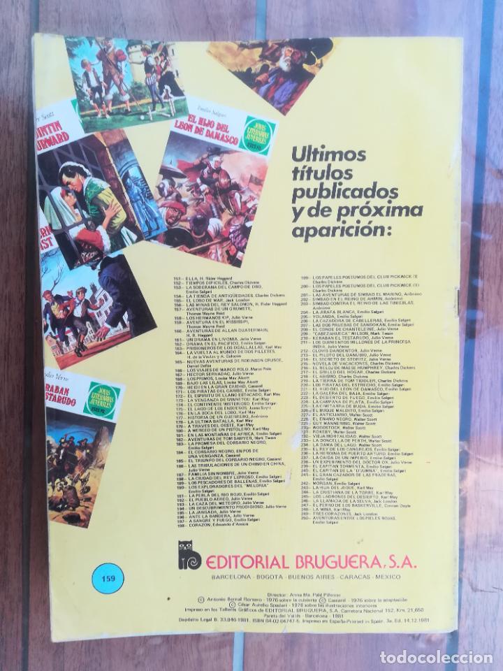 Tebeos: JOYAS LITERARIAS Nº 159. 3ª EDICIÓN. BRUGUERA - Foto 2 - 222817663