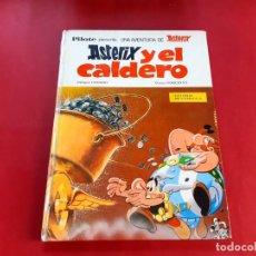 Tebeos: ASTERIX COLECCION PILOTE - ASTERIX Y EL CALDERO - BRUGUERA 1970- N° 18. Lote 222865486