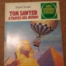 Tebeos: COMIC DE JOYAS LITERARIAS JUVENILES TOM SAWYER A TRAVES DEL MUNDO DEL AÑO 1980 Nº 24. Lote 222884822