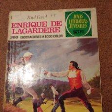Tebeos: COMIC DE JOYAS LITERARIAS JUVENILES ENRIQUE DE JAGARDERE DEL AÑO 1972 Nº 27. Lote 222885706
