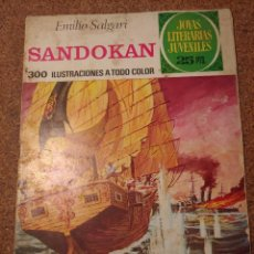 Tebeos: COMIC DE JOYAS LITERARIAS JUVENILES SANDOKAN DEL AÑO 1976 Nº 52. Lote 222886168