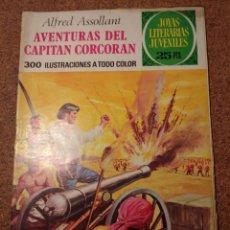 Tebeos: COMIC DE JOYAS LITERARIAS JUVENILES AVENTURAS DEL CAPITAN CORCORAN DEL AÑO 1976 Nº 80. Lote 222898962