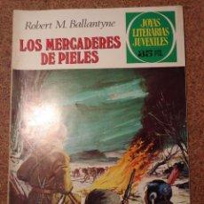 Tebeos: COMIC DE JOYAS LITERARIAS JUVENILES LOS MERCADERES DE PIELES DEL AÑO 1979 Nº 86. Lote 222899070