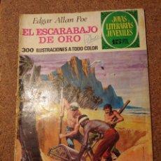Tebeos: COMIC DE JOYAS LITERARIAS JUVENILES EL ESCARABAJO DE ORO DEL AÑO 1973 Nº 88. Lote 222899263